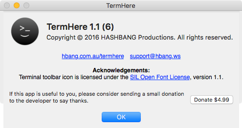 TermHere Donation